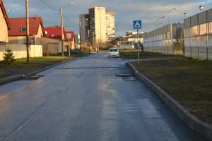 тротуары отсутствуют